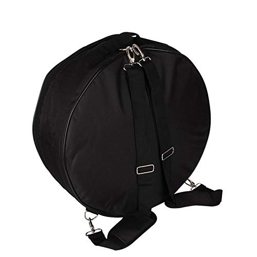 BianchiPamela 14 Inch Snare Drum Bag Backpack Case with Shoulder Strap Outside Pockets