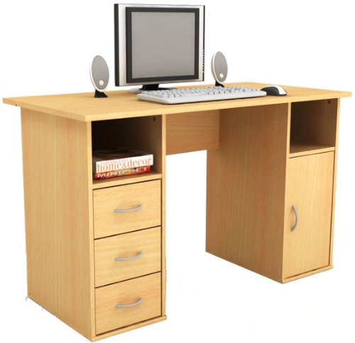 Best Price Alphason Maryland Computer Workstation – Beech Review