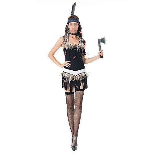 Vampire Kostüm Hunter - kMOoz Halloween Kostüm,Outfit Für Halloween Fasching Karneval Halloween Cosplay Horror Kostüm,Halloween Kostüm Indianer Kostüm COS Uniform Savage Forest Hunter Kostüm