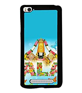 printtech Lord Tirupati Balaji Back Case Cover for Xiaomi Redmi Mi4i , Xiaomi Mi 4i
