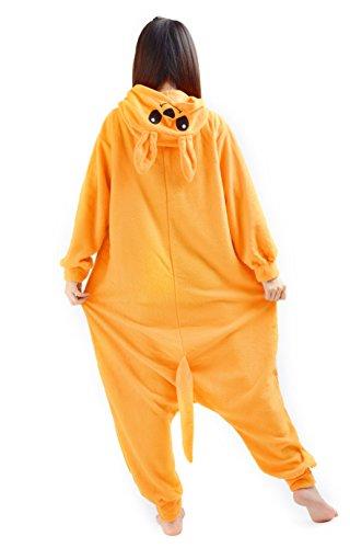 DATO Tier Pyjama Känguru Erwachsene Unisex Cospaly Onesies Nachtwäsche känguru