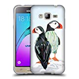 Official Turnowsky Penguins Animals 2 Soft Gel Case for Samsung Galaxy J3