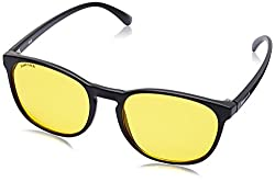 Fastrack UV Protected Goggle Mens Sunglasses - (P377YL2|58|Yellow Color)