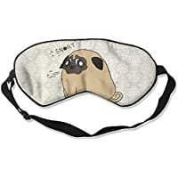 Pugtato 99% Eyeshade Blinders Sleeping Eye Patch Eye Mask Blindfold For Travel Insomnia Meditation preisvergleich bei billige-tabletten.eu
