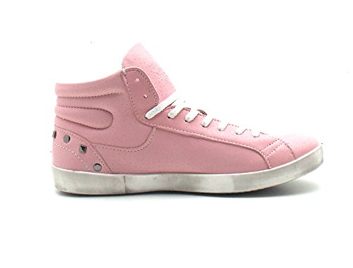 Vero Cuoio Italy , Hi-Top Sneakers femme Rose - Rose
