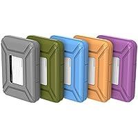 ORICO Aufbewahungsbox Schutzboxen Taschen Gehäuse sind passend für 3,5 Zoll Festplatten,5 Stück