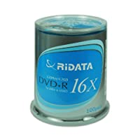 ‏‪Ridata DVD+R 16x Ridata-S in 100-piece cake box (Discontinued by Manufacturer)‬‏