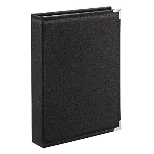 Hama Einsteckalbum New York City, für 400 Fotos im Format 10x15, schwarze Innenseiten, 4 Einsteck-Taschen pro Seite, Foto-Album schwarz