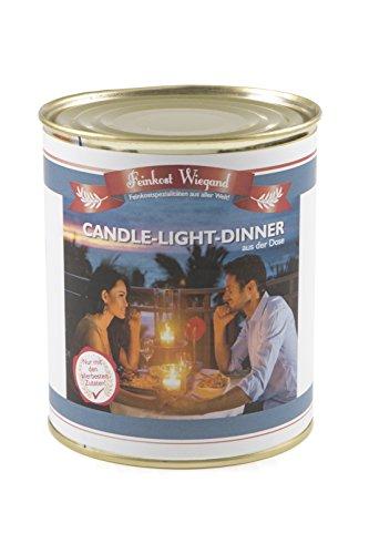 Candle Light Dinner aus der Dose - Wichtelgeschenk - Nikolausgeschenk - Spaßgeschenk - Geburtagsgeschenk - Weihnachtsgeschenk - Scherzartikel (Preis Luftballons Der)