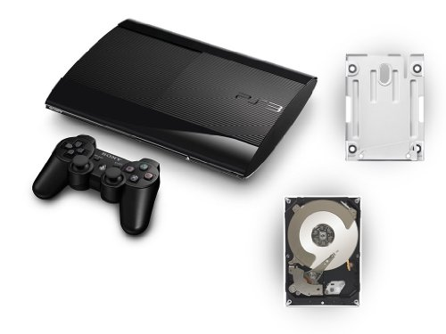 PS3 12GB + 500 GB Festplatte inkl. Montagehalterung