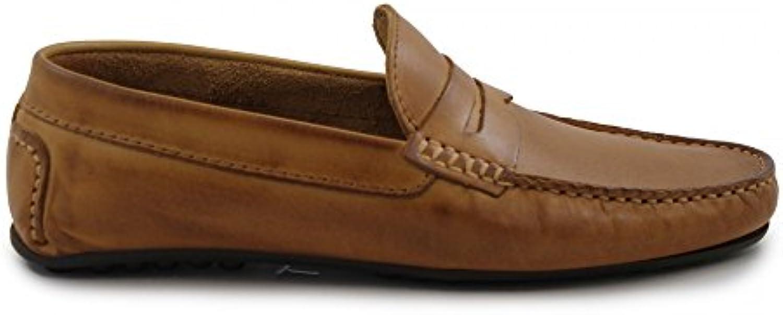 Benavente Mocasín Piel Antifaz Camel  Zapatos de moda en línea Obtenga el mejor descuento de venta caliente-Descuento más grande