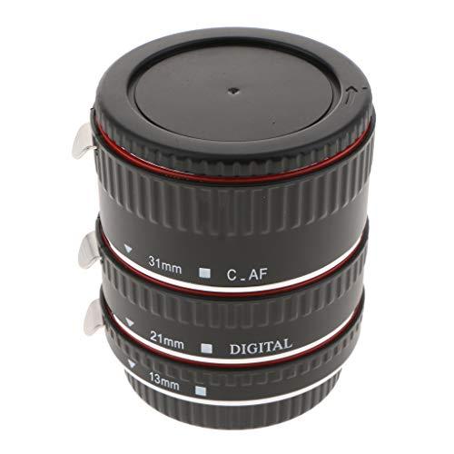 P Prettyia Für Canon EF EF-S-Objektive Objektiv-Aufsatz Makro Verlängerungsrohr Kit 13mm 21mm 31mm Nahaufnahmen -