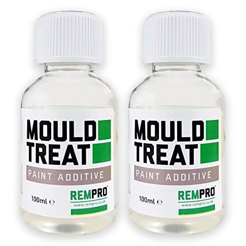 2 x 100 ml Anti-Schimmelfarbe Additiv für Farbe Konzentrierte Formel behandelt bis zu 10 Liter Farbe. -