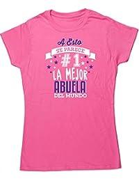 HippoWarehouse A Esto Se Parece  1 La Mejor Abuela Del Mundo camiseta manga  corta ajustada ba47e639ebe