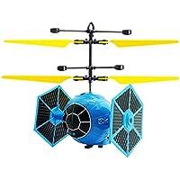 HUJUNG Mini Avión De Inducción, Drone DeInducción Infrarroja Anticaída, Helicóptero De Juguete para Niños,A