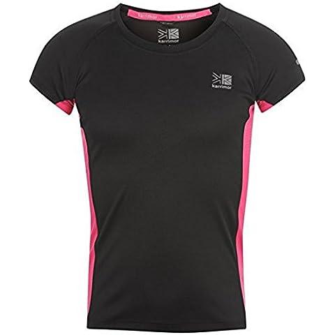 Karrimor pantalón corto para niño de camiseta de manga corta para sillita de Sport transpirable para mujer para niñas