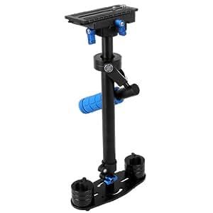 Mini Stabilisateur support d'épaule steadicam pour DSLR SLR DV caméscope caméra vidéo Canon Sony Nikon etc. (Max 60cm)