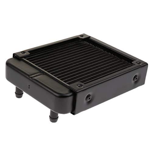 D DOLITY 18 Rohre 120mm Gerader Mund PC Computer Radiator Wärmetauscher Kühlrippe für CPU Wasserkühlung Inkl. Lange und Kurze Schrauben -