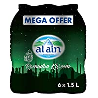 Al Ain Bottled Water - Pack of 6 Pcs (6 x 1.5L)