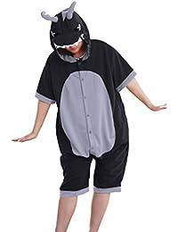 wotogold Hombre 1 1 disfraces de animales Dragón pijamas de Cosplay con el cuerno 1
