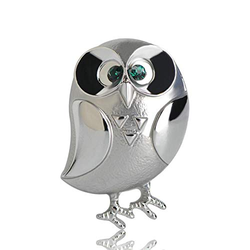QSCVHU Niedlichen Vogel Broschen Frauen Kinder Geburtstagsgeschenke Große Augen Vögel Corsagen Anzug Kleidung Zubehör Eule Brosche Pins