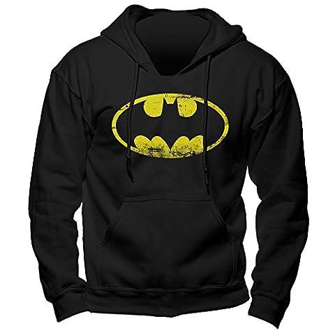 Dc Comics Batman - Logo Pullover Hoodie Medium