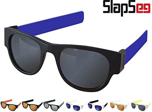 NEW!! SlapSee PRO Sonnenbrillen mit POLARISIERTEN Gläsern (Schwarz Blau Neutral)