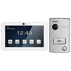NeoLight Video-Türsprechanlage Porta 7 ✓ Touchscreen 7 Zoll Monitor ✓ HD-Display ✓ 2-Draht-Technik ✓ 120° Weitwinkel-Türstation