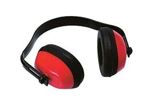 Kapselgehörschutz SBS Gehörschutz Kopfhörer Rot