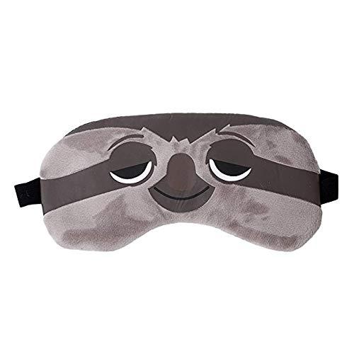Ruikey Süße Tier Baumwoll Schlafmaske,Hoch Elastisch und Verstellbar,Nachtmaske Schlafbrille für Einen Guten Schlaf