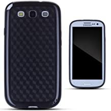 Zooky® negro EXTREME CARBONO funda / carcasa / cover para Samsung Galaxy S3 (I9300)