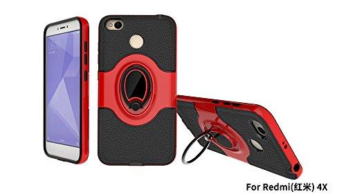 Xiaomi Redmi 4X Case, Xiaomi Redmi 4X Shock-Absorption Shell Durable Defender Protective Case Cove for Xiaomi Redmi 4X - 4 Defender Case
