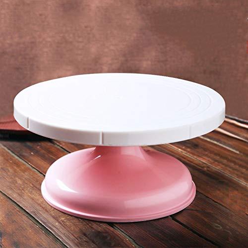 RRen Tabella della Torta della Tabella del Fiore della Torta del Turntable della Torta del Negozio della Torta del Vassoio della Torta della Famiglia 0526 (Dimensioni : 27 * 13cm)