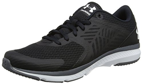 Under Armour Ua W Micro G Press Tr, Scarpe Sportive Indoor Donna Nero (Black)