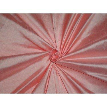 Reine Seide Dupionseide Stoff hell rosa Farbe 137,2cm by the Yard