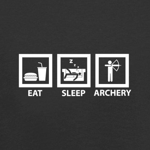 Eat Sleep Archery - Herren T-Shirt - 13 Farben Schwarz