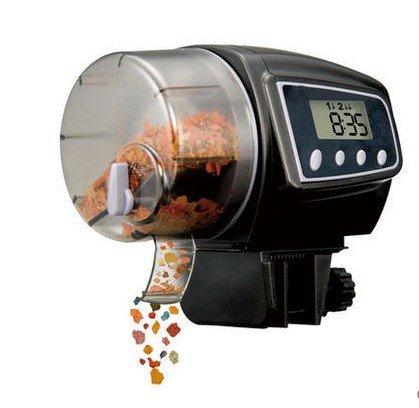 ksjdjok Automatic Feeder Fish Tank Intelligentes Timing Füttern von Fischen Koi Goldfish Automatisches Fütterungsgerät Zierfischfütterung -