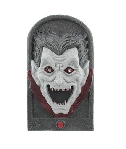 Edco Halloween Türklingel mit Bewegung und Sound (Dracula)