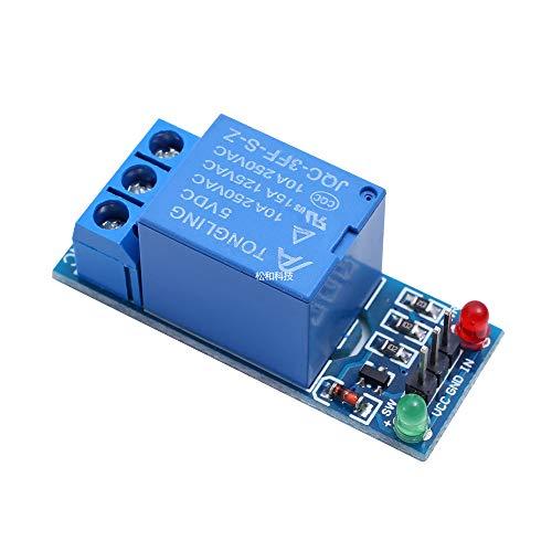 Kanal-koppler (Minzhi 5V 1/2/4/8/16 Channel Relais-Brett-Modul Optokoppler LED Ersatz für Arduino PIC-ARM AVR)
