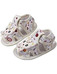 2123a5724e1dc LQZ Cute Cartoon Soft Sole Summer Shoes Sandals for Infant Baby Girls Boys