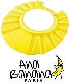 Ana Banana Paris : Visière de Bain pour Shampoing (Jaune)