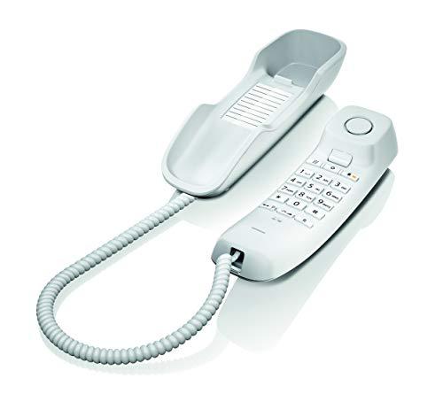 Gigaset DA210 Telefon – Schnurgebundes Telefon / Schnurtelefon – Stummschaltung / Mute – Analog Telefon – weiß - 3
