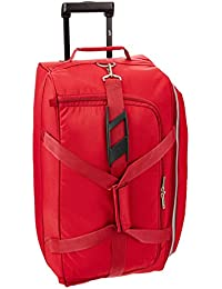 Skybags Cardiff Polyester 64 cms Red Travel Duffle (DFTCAR62RED)