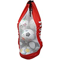 SUFIAH Football Netball Rugby 4 6 8 12 Balls Carry Sack Holdall Bag Heavy Duty Jumbo size