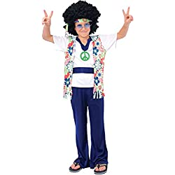 Hippie Dude - Kids Costume 8 - 10 years