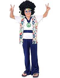 Hippie Dude - Kids Costume 11 - 13 years