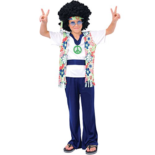 Hippie Dude - Kids Costume 11 - 13 (Dude Kostüme Hippie)