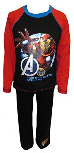 Marvel Avengers Iron Man Jungen Schlafanzug 9-10 Jahre