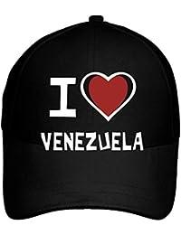 Idakoos I Love Venezuela Bicolor Heart - Paises - Gorra De Béisbol