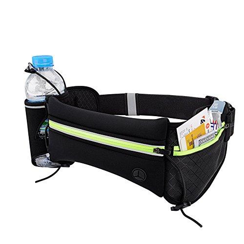 ChenBing Lauftasche mit elastischem Bund Outdoor Sports Fitness Laufen Gürteltasche Marathon Lauf Gürtel Atmungsaktive Radtasche